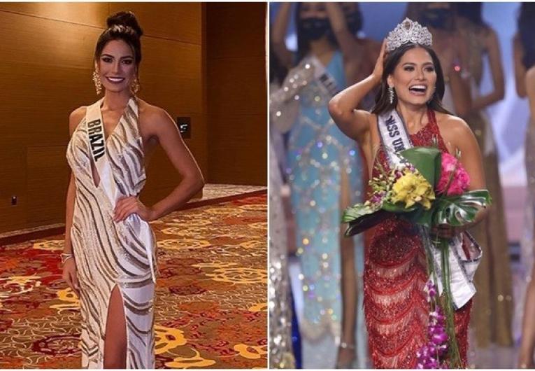 Brasileira Julia Gama fica em 2º lugar no Miss Universo; México fatura coroa