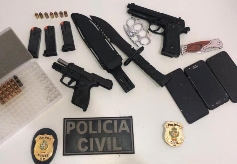 Polícia Civil impede novo ataque a escola em Goiás