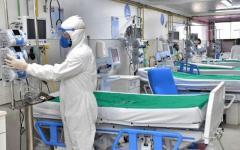 Ocupação de leitos de UTI para covid-19 em Goiás está em 87%