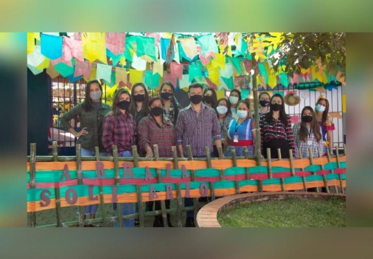 Colégio Aprov inicia campanha de arrecadação de alimentos não perecíveis