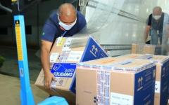 Caiado anuncia chegada de mais 174,8 mil doses de vacinas contra covid-19