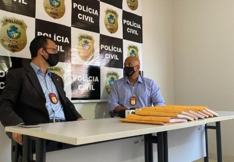 Polícia Civil de Catalão,  indicia 195 investigados em inquérito policial que apurou uso de formulários falsos na vacinação da Covid-19