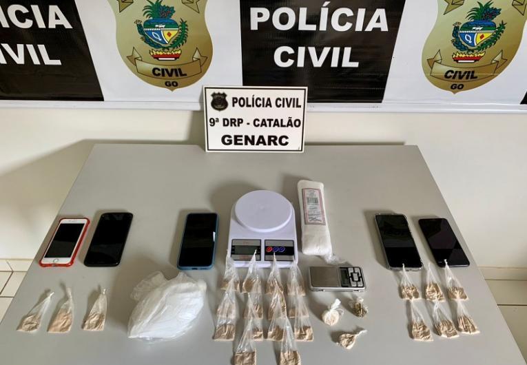Polícia Civil deflagra Operação Corujão  e prende três pessoas em Catalão