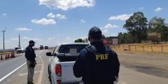 Polícia Rodoviária Federal em Catalão flagra menor ao volante