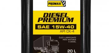 Promax lança óleo lubrificante premium para motores a diesel