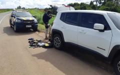 PRF recupera veículo roubado  na BR 050 em Catalão