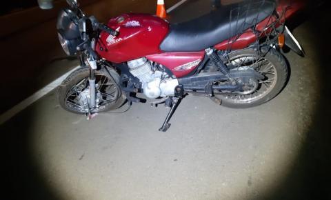 PRF atende acidente com mototaxista  que morreu após colidir motocicleta na traseira de carreta