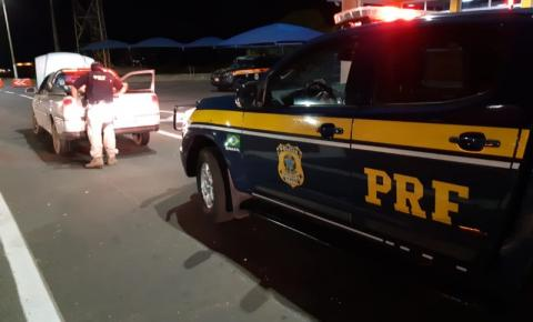 PRF recupera veículo na BR 050 em Catalão