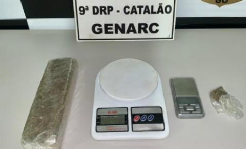 Operação integrada Genarc/9°DRP e 18ºBPM  resulta na apreensão de drogas em Catalão