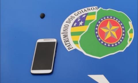 Menor é conduzido à Central de Flagrantes,  suspeito de roubo de celular