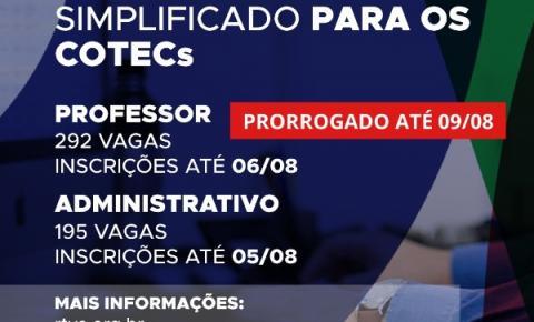 Processo Seletivo seleciona professores para Colégios Técnológicos em Goiás