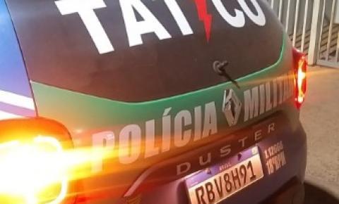 Homem é preso em flagrante pela Equipe do Tático Móvel,  por tentativa de homicídio em Catalão