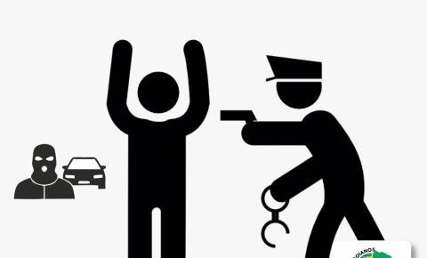 Em rápida ação, PM de Pires do Rio recupera veículo furtado e apreende arma de fogo