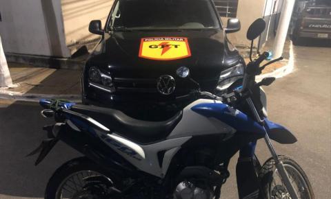 Dois homens são presos por furto de motocicleta em Catalão
