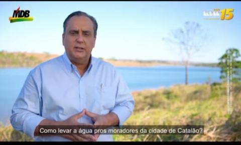 Incompetência de Adib Elias: falta crônica de água em Catalão é criticada no programa de TV Elder Galdino