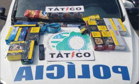 Tático Móvel do 18ºBPM  recuperou produtos furtados em estabelecimento comercial em Catalão