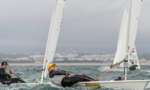 Em dia de vento forte, Scheidt sobe para o terceiro lugar no Grand Prix de Portugal