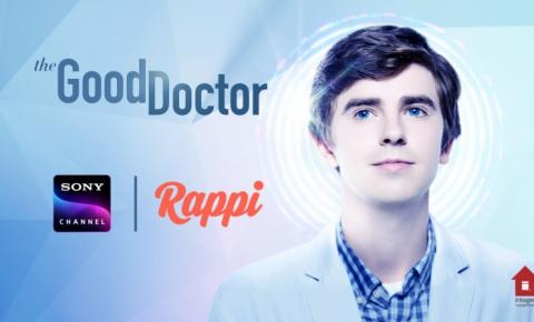 "Sony Channel faz ""Rappi Hour"" com The Good Doctor"
