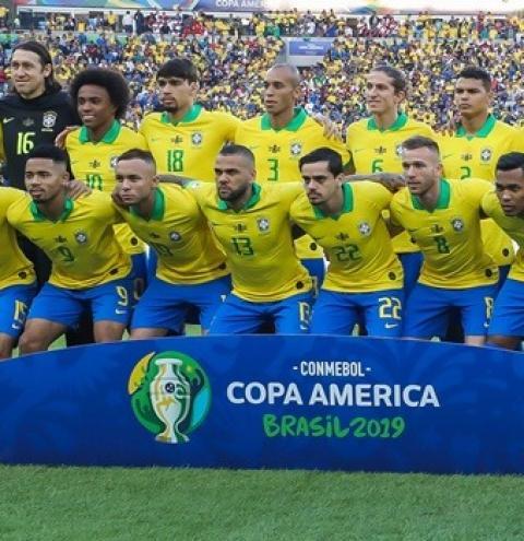 Seleção brasileira joga em Goiânia pela Copa América no dia 27 de junho