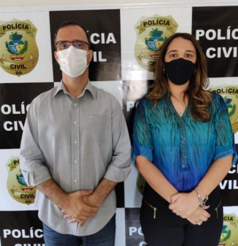 A 9ª Delegacia Regional de Polícia Civil de Catalão - 9a DRP, apresenta a Delegada de Polícia, Drª Yvve de Melo Rocha