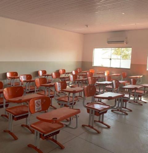 Decreto: Caldas Novas libera retorno das aulas presenciais com 75% da capacidade